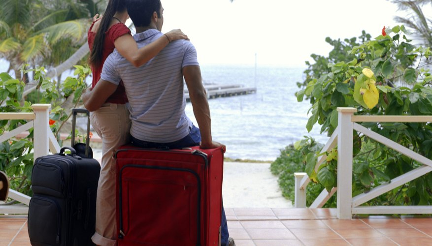 Oceans make up one of the most common romantic getaway locations.