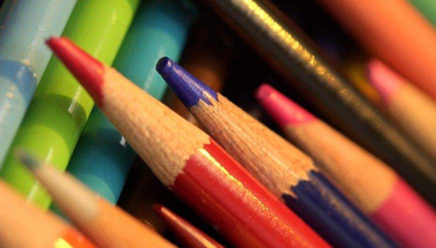 Los lápices de color son herramientas versátiles para el arte.