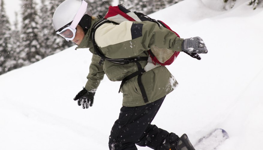 Snowboarding can help your teen reach his weight goal.