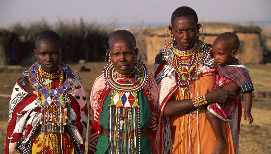 Gente de una tribu.