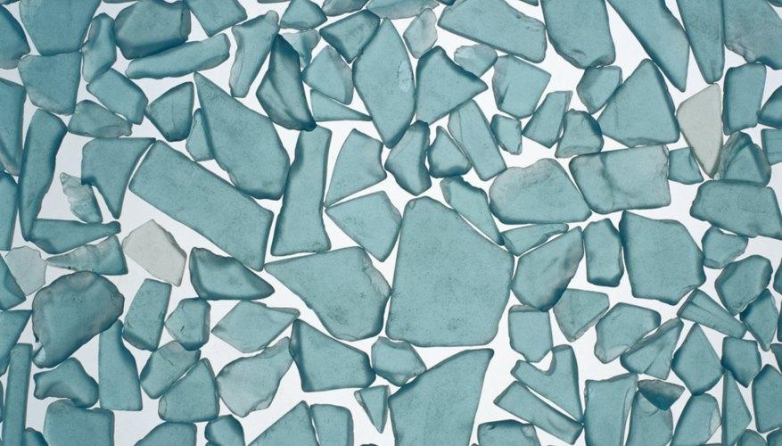 El vidrio de recorte se puede modificar y hacer una pieza de biselado única.