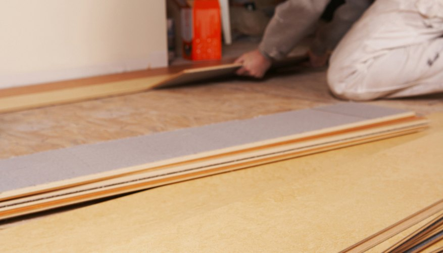 How To Lay Laminate Flooring On Concrete Garden Guides