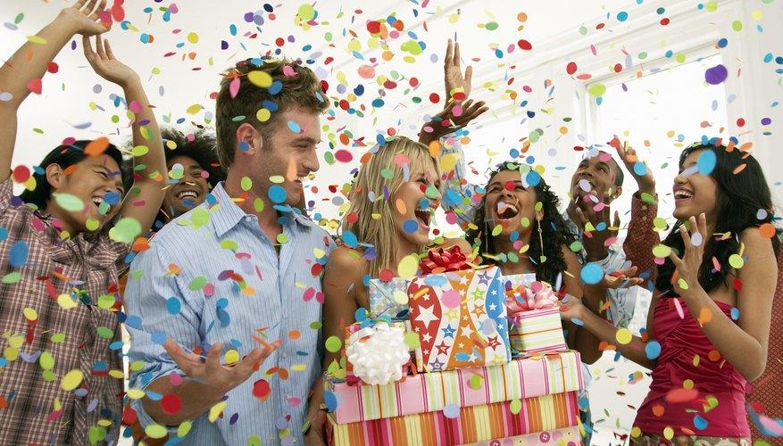 Se necesita planeación para realizar una buena celebración de cumpleaños.