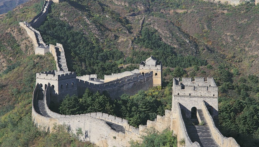 The Great Wall of China remains as testament to the ancient civilization.