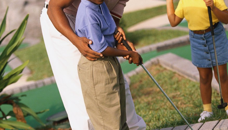Miniature golf is one fun activity for kids in Tuscaloosa.