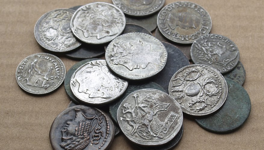 Ancient Roman coins