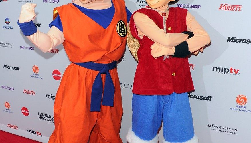 Goku es el personaje principal de la popular serie