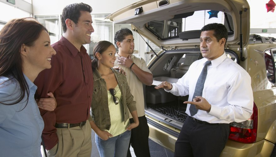 Know what a car is worth before starting negotiations.