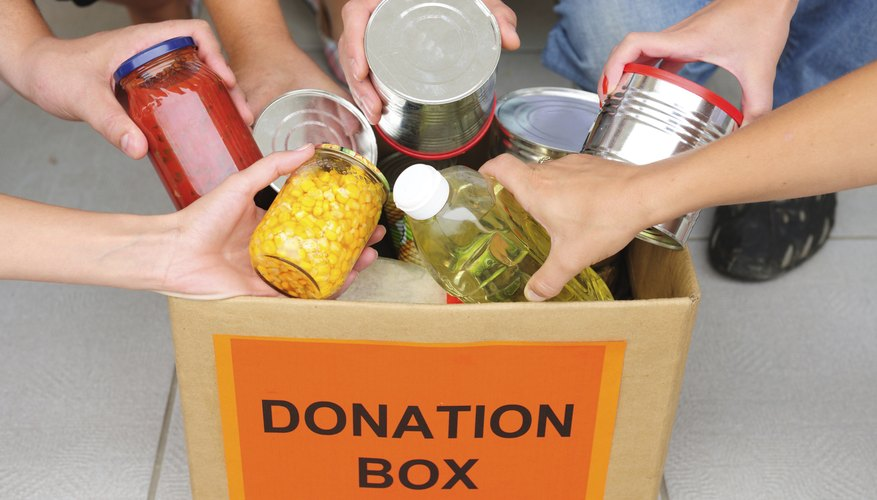 Image of charitable gifts.