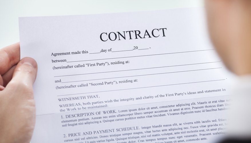 Popular 'Agreements & Contracts' Terms