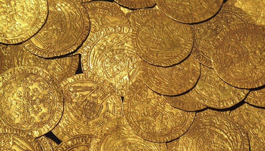 Monedas de oro del siglo XV