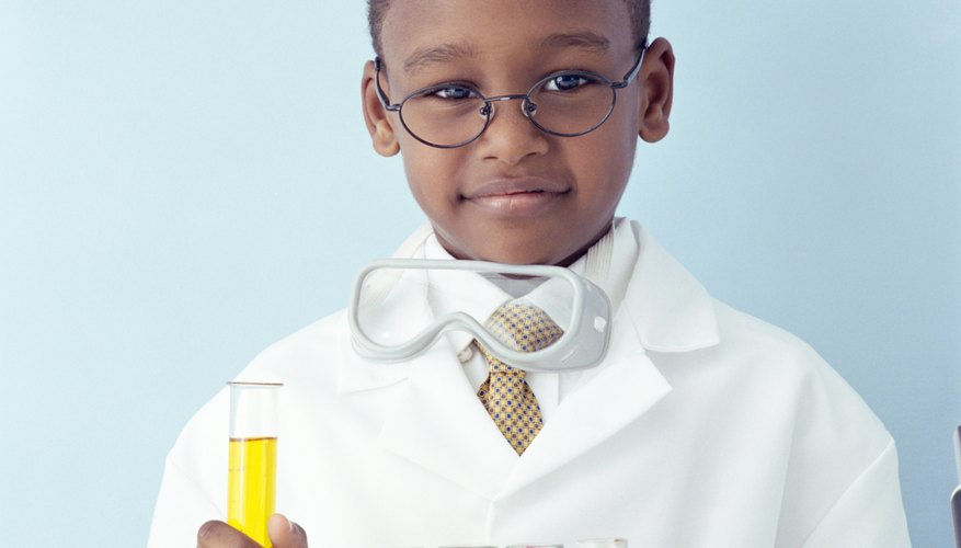 Conduct some science experiments using test tubes.