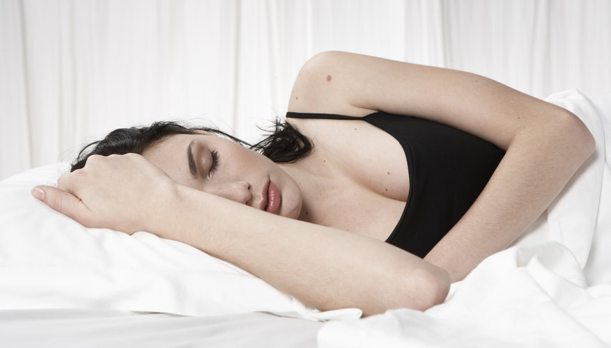 Get eight hours of sleep a night
