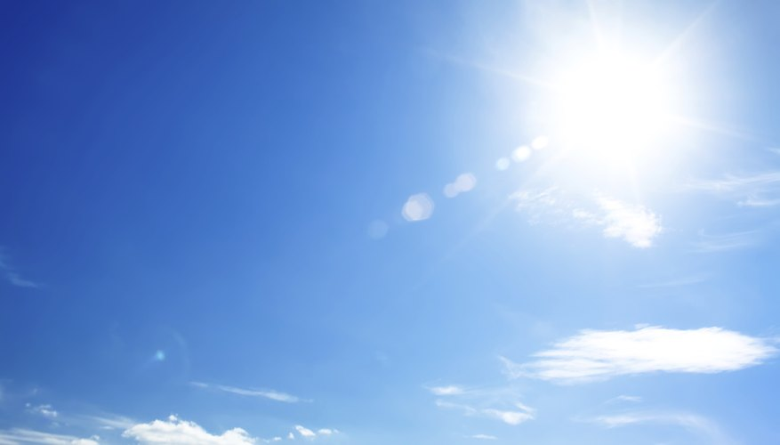 Too much sun exposure can cause scalp issues.