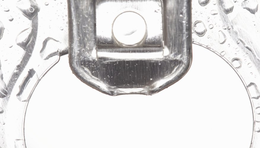Water droplets on the outside of a cold beverage container are a common example of condensation.