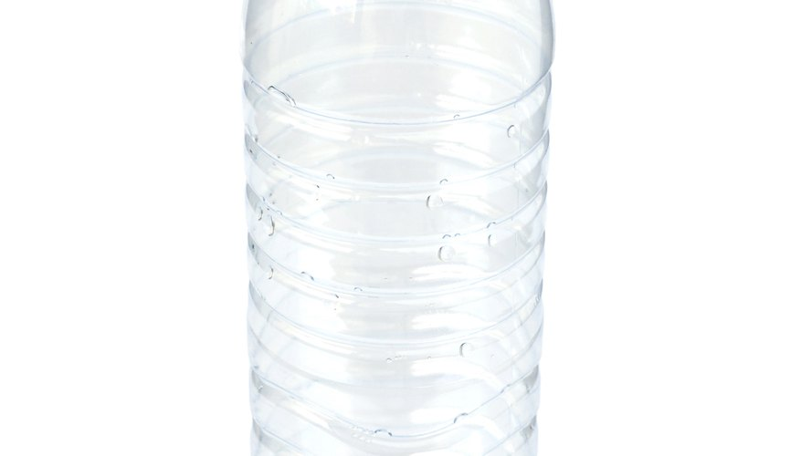 The type of plastic in bottles has a different structure than that used in other products.