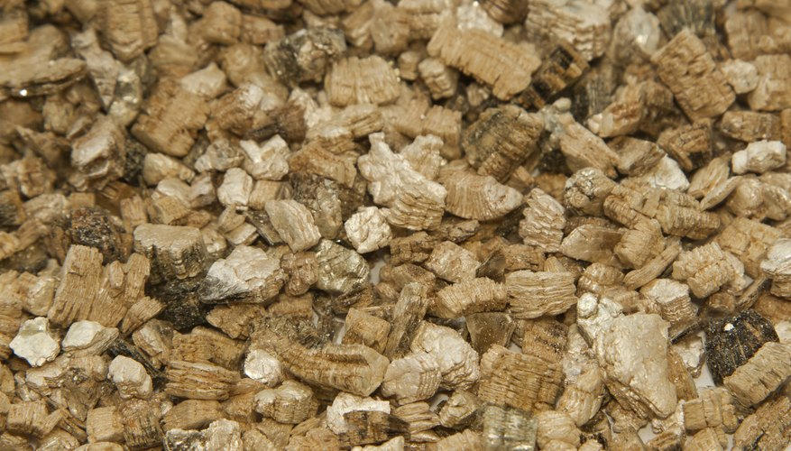 Close-up of vermiculite