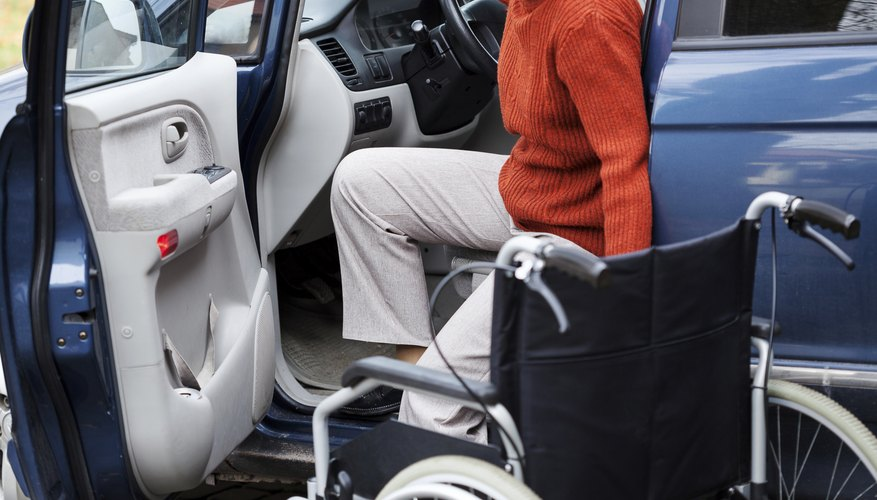 Grants are available to help defray the cost of modifying a vehicle for a handicapped driver.