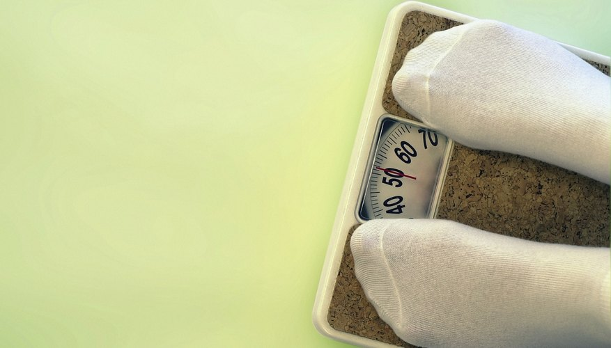Rapid weight loss can cause hair loss.