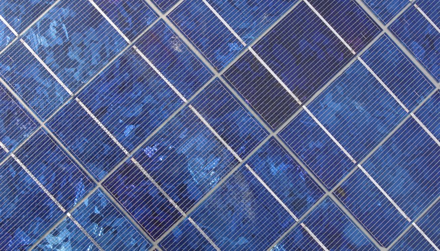 Solar cells create current at specific photon energy values.