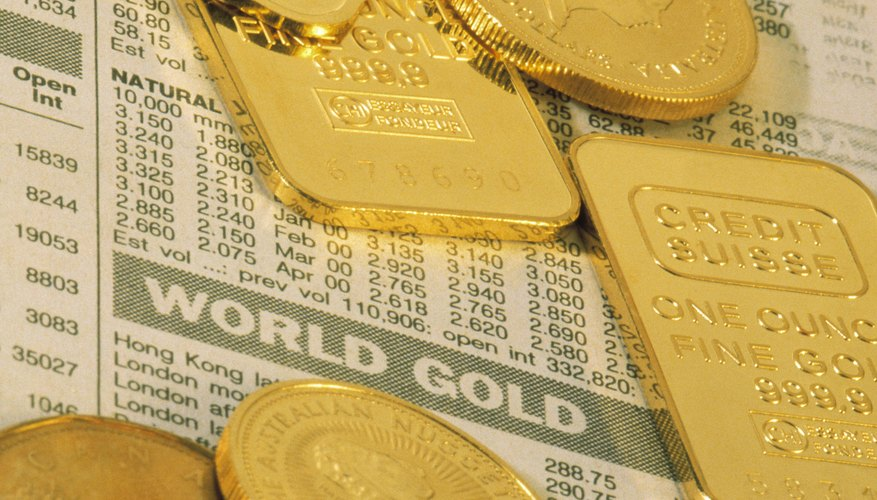 Gold Stock Or Bullion Bars And Coins Offer Investors Varying Levels Of Investment Security