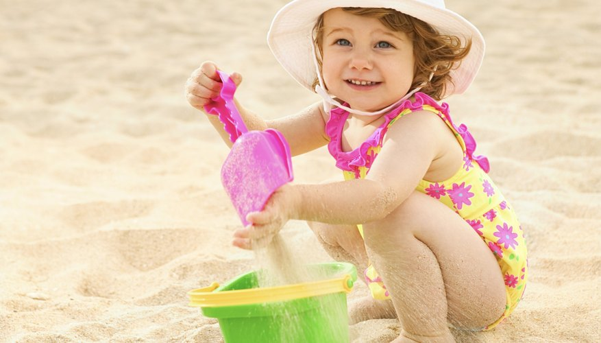 Your toddler can enjoy one of Florida's beaches.