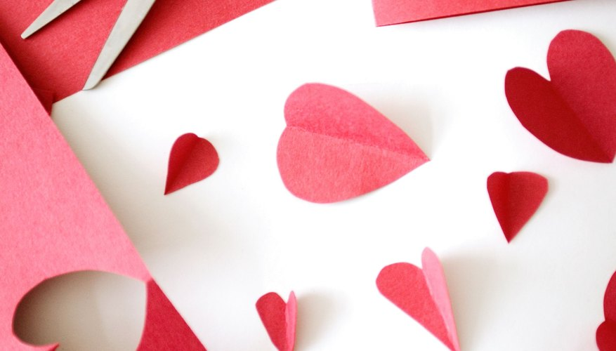 Simplify the game by using cut-out hearts to pin to a Valentine's Day image.