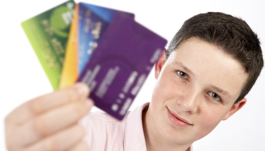 Your young child probably doesn't have credit cards, so if you receive a bill, you should probably check his credit.