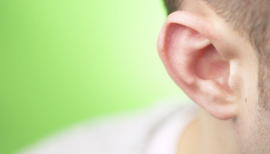 Man's ear