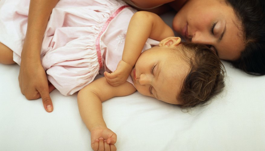 Sleeping with your child can be frustrating and fulfilling.