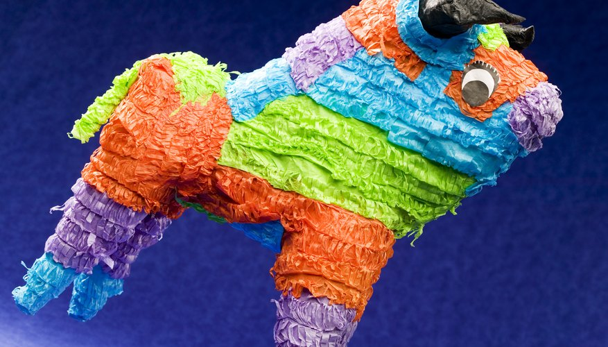 Piñatas add fun and color to any children's party.