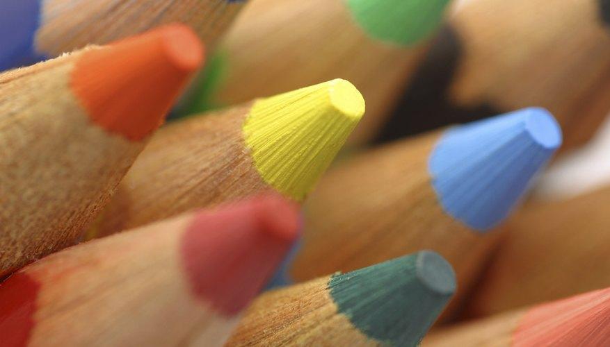 Añade color a tu poema concreto.