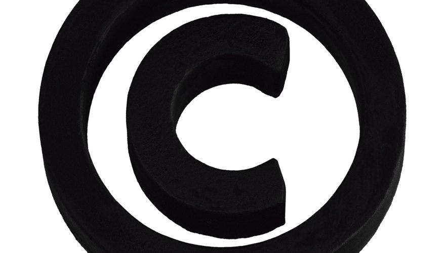 The copyright symbol protects yourself.