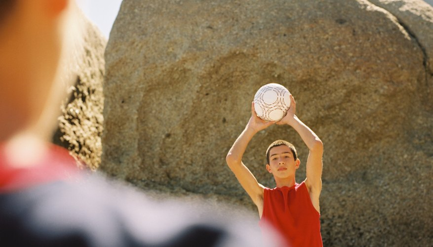 Incorporate a simple ball toss game to encourage quick communication.