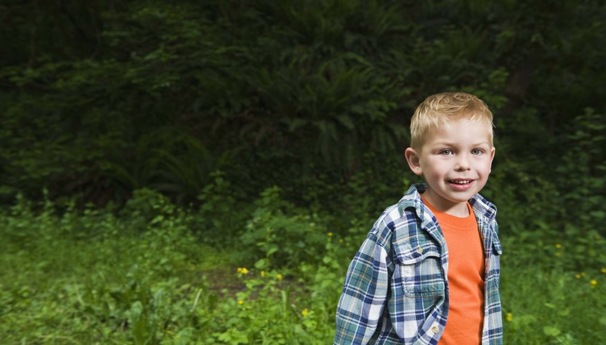 Haz que tu niño se emocione acerca de la naturaleza con una búsqueda del tesoro.