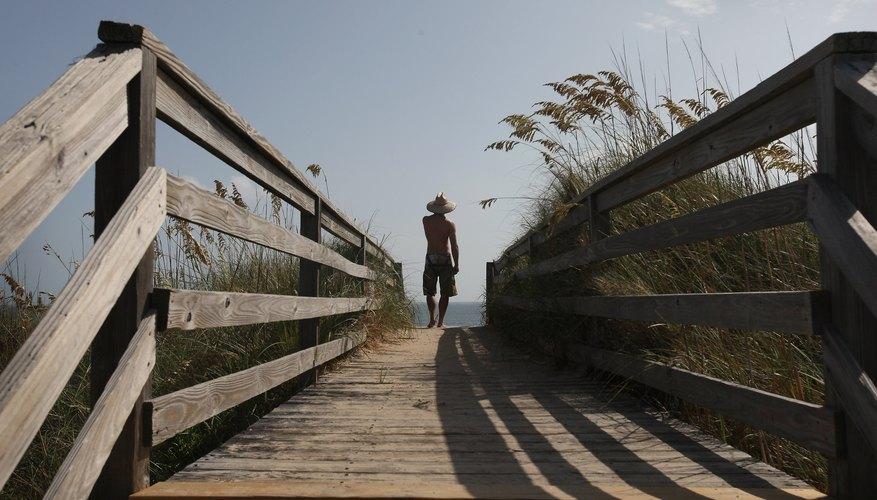 La playa es la mayor atracción de los visitantes de Nags Head.