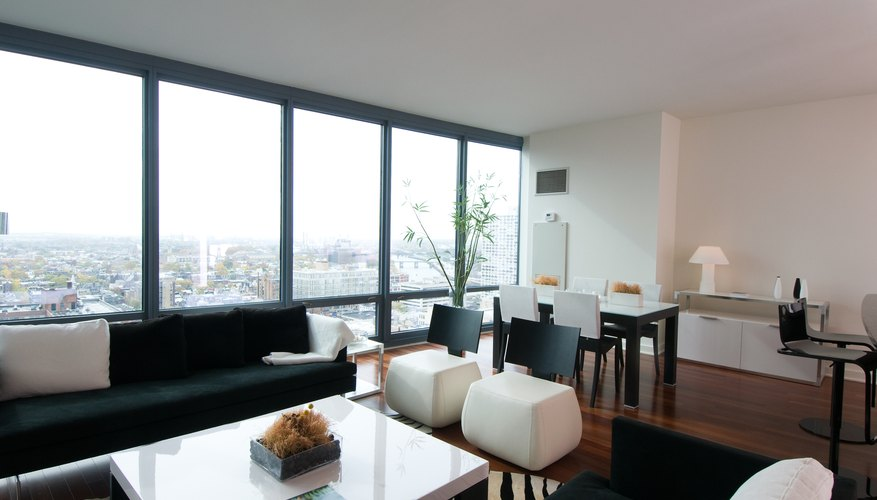 Interior Of A Modern Condominium