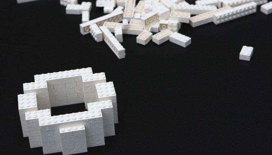 White LEGO blocks