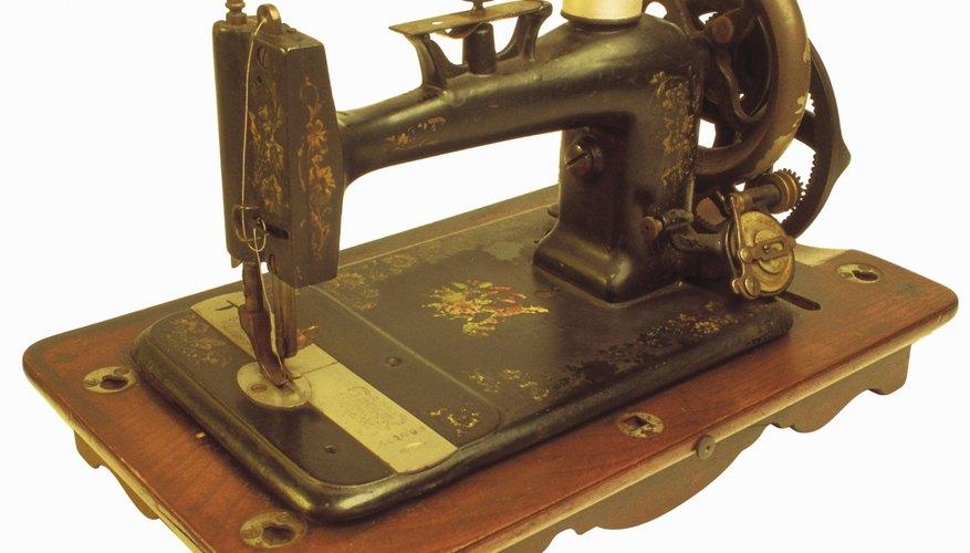 Algunas de las primeras máquinas Singer son muy valiosas.