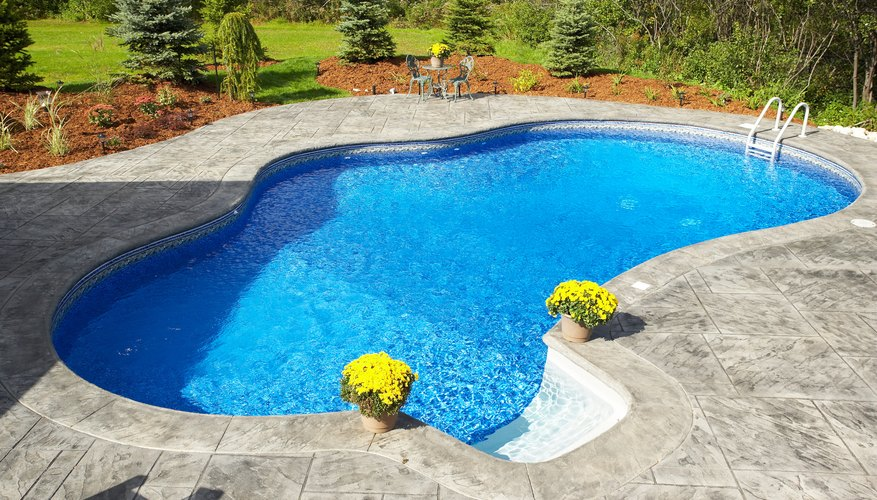 Swimming pools require scheduled care and maintenance.