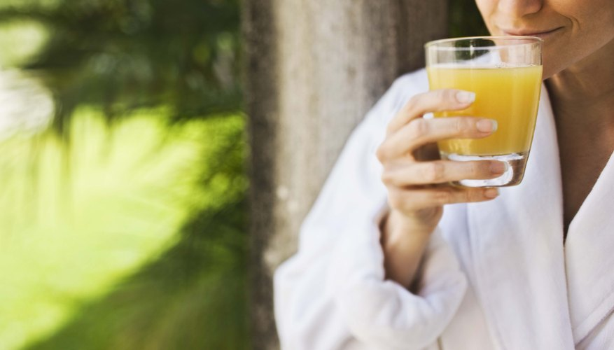 Juice may cause frequent urination