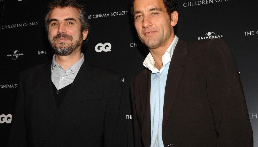 El director Alfonso Cuarón y el actor protagonista de