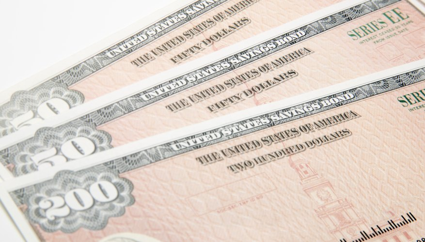 Savings bonds are backed by the federal government.