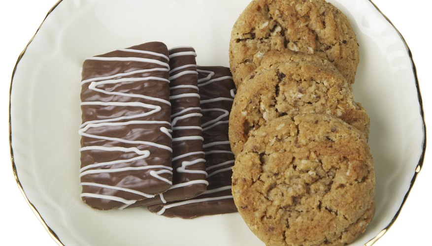 From round to rectangles, cookies come in all shapes and sizes.