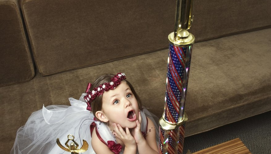 Some babies and toddlers enjoy pageants.