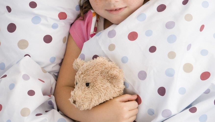Periodos prolongados de poco sueño, o privación del sueño crónica, puede afectar el crecimiento.