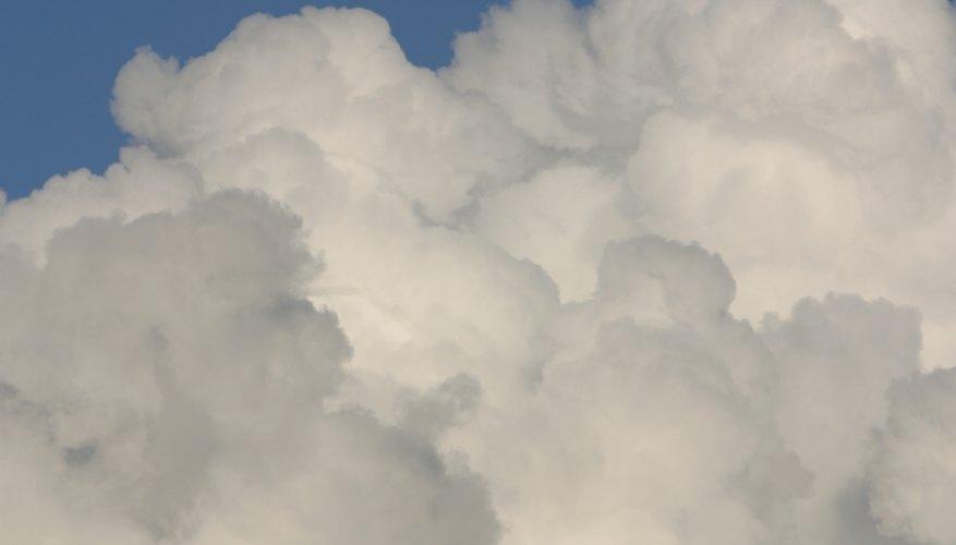 Tipos de nubes que provocan inestabilidad en el vuelo.