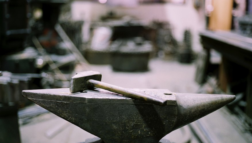 Hammering a steel surface to make a musical instrument is a difficult but satisfying project.