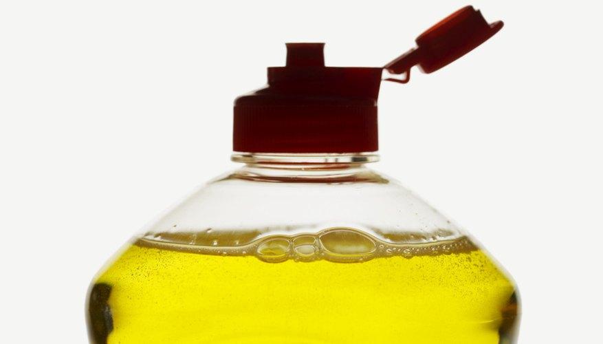 Utiliza glicerina para hacer unas perfectas burbujas de jabón.