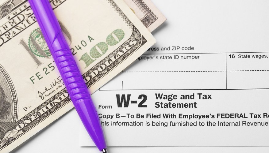 Where to Get W-2 Forms | Bizfluent